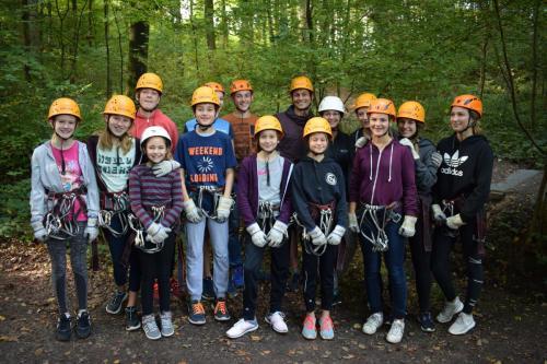 Jugendausflug in den Klettergarten